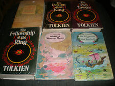 The Lord Of The Rings JRR Tolkien Set Collection + Bombadil + Major Hard Backs