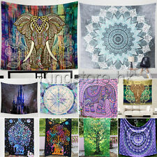 Indian Tapestry Wall Hanging Mandala Hippie Gypsy Bedspread Throw Bohemia Cover