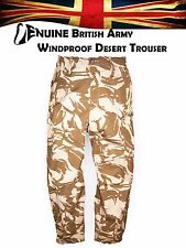 Genuine British Army Desert Trousers Windproof 95 Sand Combat Military Pants