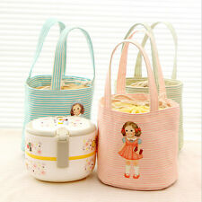 Portable Cute Bag Thermal Insulated Lunch Box Tote Cooler Picnic Pouch Storage