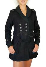 Rip Curl CARBERET JACKET Womens Winter Wool Jacket Coat $160 - Black