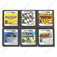 6pcs MARIO Game Cards 6 Models Child Gift For Nintendo DS NDS DSI 3DS US Version