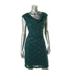 Connected Apparel 3316 Womens Lace Sleeveless Cowl neck Cocktail Dress BHFO