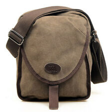 Men's Vintage Canvas Messenger Shoulder Bag Travel Hiking Cross Body Waist Pack
