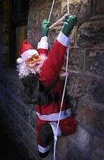 Climbing Santa Rope Ladder Out Door Decoration 2 Sizes 3ft 4ft Father Christmas