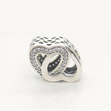 Genuine Authentic S925 Sterling Silver Entwined Love European Charm bead