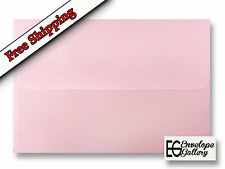 Baby Pink Pastel Envelopes for Invitations Announcements Enclosures A1 A2 A6 A7