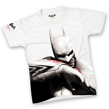 BATMAN ARKHAM CITY ~Rare Original Promo Game T-SHIRT Collectors PS3 Xbox 360 NEW