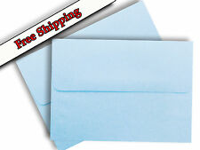 Blue Pastel Envelopes for Invitation Shower Announcements Cards A1 A2 A6 A7 Baby