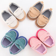 Toddler infant Baby Girl boy new soft sole Crib Shoes sneaker size 0-18Month QW