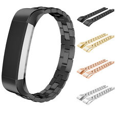 Luxury Stainless Steel Bracelet Watch Wrist Band Strap for Fitbit Alta Tracker