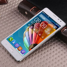 "Unlocked 5.5"" Touch Smartphone 3G/2G Dual Core Dual SIM Android 4.4 Mobile Phone"