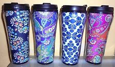 VERA BRADLEY Assorted Patterns BPA-Free Travelling Mug NWT