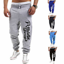Men Casual Jogging Sports Training Sweat Pants Tracksuit Trousers Jogger Bottoms
