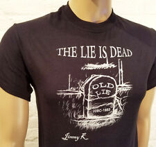 Narcotics Anonymous - NA - The Lie Is Dead Black T-Shirt- S-4X