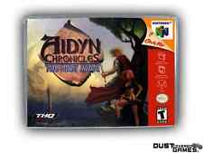 Aidyn Chronicles - The First Mage Nintendo 64 N64 Game Case Box Professional Qua
