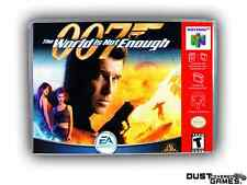 007: The World is Not Enough Nintendo 64 N64 Game Case Box Professional Quality!