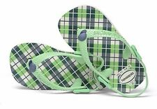 Havaianas Baby Chic Green Sandals Flip Flop with Back