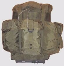 Alice Medium Back Pack US Army OD GREEN COMPLETE w/ FRAME & STRAPS Good