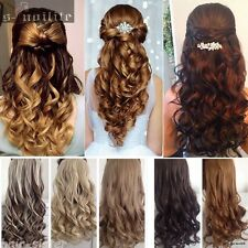 Long 120-200G One Piece Clip in Hair Extensions Natural Real For Human Hair TY