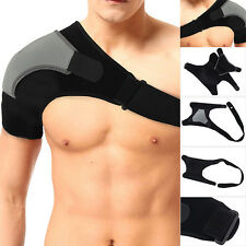 Neoprene Shoulder Support Injury Arthritis Pain Elastic Strap Gym Sport Brace