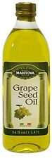 Mantova Grapeseed Oil, 34 Ounce (Pack of 2)