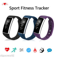 Bluetooth Wrist Smart Bracelet Watch Phone Heart Rate Monitor for IOS Android
