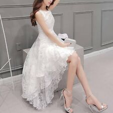 Womens Vogue Sleeveless Dress Bridesmaid Cocktail Evening Ball Gown Formal Dress