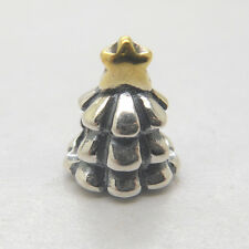 Authentic Genuine S925 Sterling Silver CHRISTMAS TREE CHARM Bead