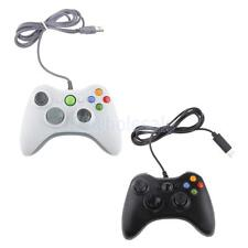 PC Wired USB 2.0 Controller Joypad Joystick for Computer Laptop White/Black