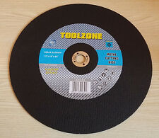 "300mm 12"" Metal Cut Off Angle Grinder Discs Blades Inch Cutting Steel 20mm Bore"