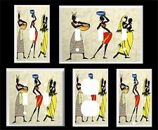AFRICAN WOMEN #4 LIGHT SWITCH COVER PLATE