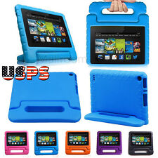 Smart Stand Leather EVA Foam Kids Case Cover For 5th Amazon Kindle Fire 7'' HD