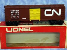 a New Lionel 6-9718 Canadian National Box Car