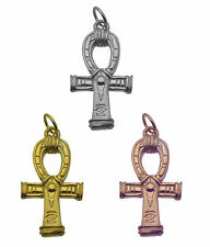 Rose / Gold Plated / Sterling silver Egyptian Egypt Ankh Charm Jewelry Pendant