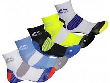 Mens More Mile Pack of 5 Ankle Sports Running Trainers Cushioned London Socks
