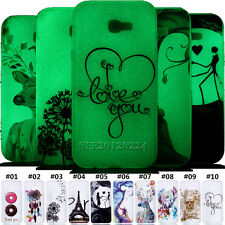 Fashion Luminous Silicone Skin TPU Soft Back Case Cover For Samsung Huawei Asus