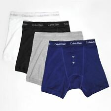 MENS CALVIN KLEIN BUTTON FLY BOXER SHORTS PANTS TRUNK BRIEFS UNDERPANTS BOXERS