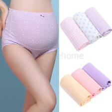Maternity Pregnancy Floral Briefs Underwear Over Bump Tummy Support Panties