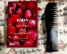 Wen LIMITED EDITION Winter Red Currant 16oz Cleansing Conditioner + Wen Comb