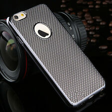 Luxury Stylish Electroplated Dotted Case Cover Grey For iPhone 6 6s {[kn84