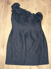 JOHN LEWIS LADIES BLACK SHIFT DRESS UK SIZE 16&18- NEW WITH TAGS