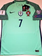 2016 2017 PORTUGAL CHAMPIONS RONALDO WORLD CUP RUSSIA QUALIFIERS AWAY JERSEY 17