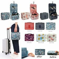 Wash Clutch Cosmetic Makeup Bag Toiletry Case Organizer Storage Hanging Pouch