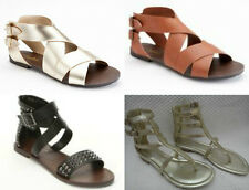 CANDIE'S or ROCK & REPUBLIC GLADIATOR SANDALS FOR WOMEN - SIZE 6M,9M - NEW!