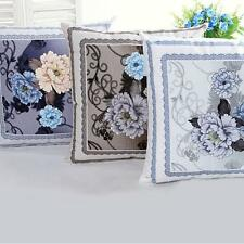 Palace Printing Dyeing Peony Sofa Bed Home Decor Pillow Case Cushion Cover Vogue
