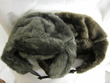 Mens RJM Accessories Faux Fur Trapper Hat with Buckle Fastening GL339