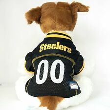 Pittsburgh Steelers Dog Jersey NFL Football Officially Licensed Pet Product