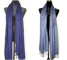 Pashmina Scarf Cashmere Shawl Wrap Solid Stole Wool Soft Women New - Gift Item