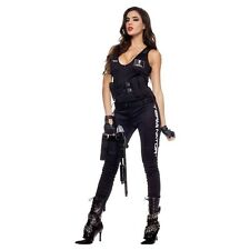 I'll Be Back Babe Jumpsuit Costume The Terminator Halloween Fancy Dress